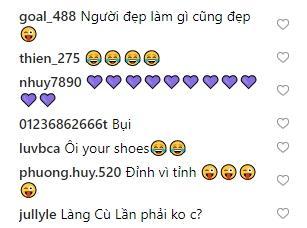 Phản ứng bất ngờ của fan khi Tăng Thanh Hà khoe ảnh so deep nhưng giày bung cả đế-5