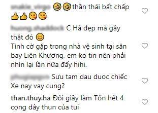 Phản ứng bất ngờ của fan khi Tăng Thanh Hà khoe ảnh so deep nhưng giày bung cả đế-6