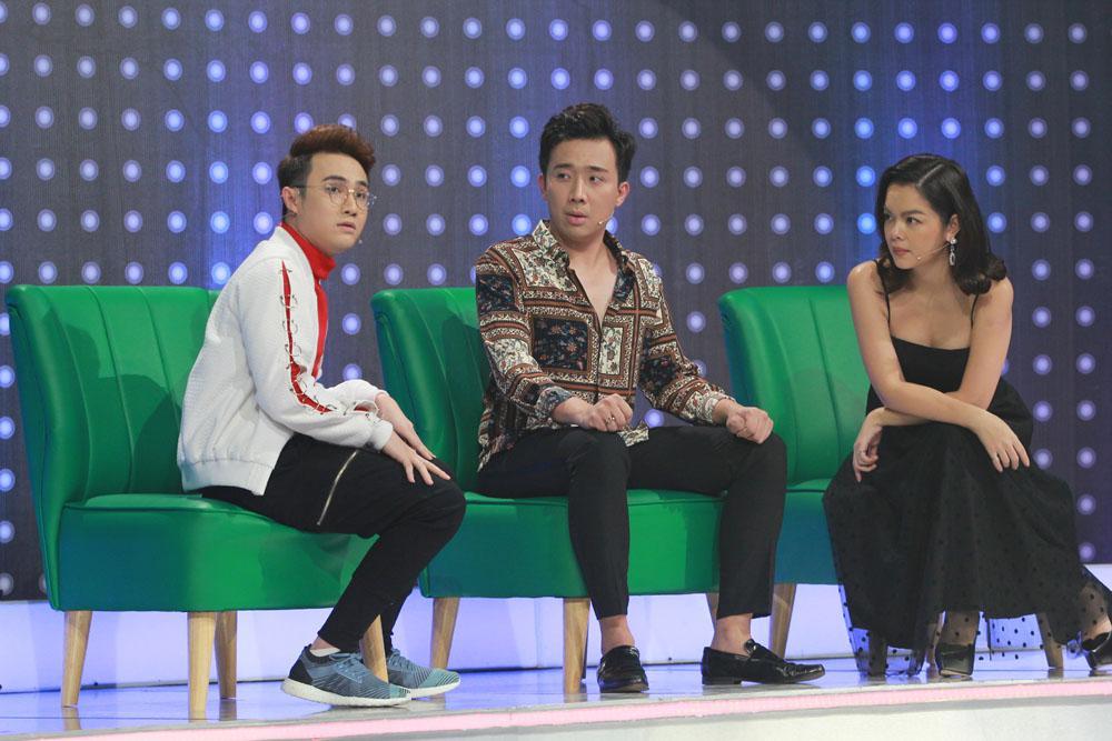 Trấn Thành lỡ lời khiến Phạm Quỳnh Anh tức giận đòi bỏ về khi đang ghi hình gameshow-1