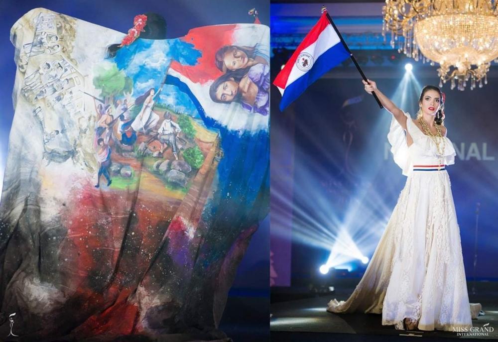 Lọt top 5 bình chọn, Áo dài của Bùi Phương Nga có cơ hội thắng giải quốc phục tại Miss Grand 2018-5