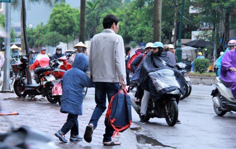 Dự báo thời tiết 20/10: Mưa, lạnh tiếp tục ở Hà Nội-1