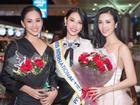 Nguyễn Thúc Thùy Tiên mang theo 110kg hành lý chinh chiến Miss International 2018