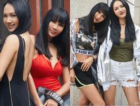 Cặp mẹ con trông như chị em được hâm mộ ở showbiz Trung Quốc