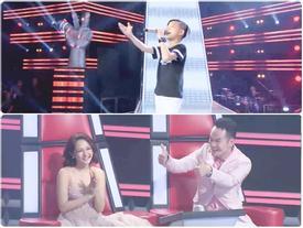 Bảo Anh xúc động khi nghe thí sinh hát hit của Hồ Quang Hiếu
