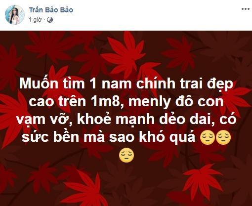 BB Trần bất ngờ đăng tin tuyển trai vạm vỡ sau tuyên bố tình yêu với Quang Lâm là đúng thời điểm nhưng sai người-1
