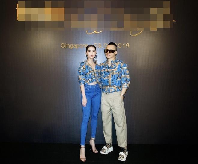 Suốt ngày diện đồ đôi tình tứ, showbiz Việt có ai thân thiết như cặp ông bầu Vũ Khắc Tiệp - gà cưng Ngọc Trinh-2