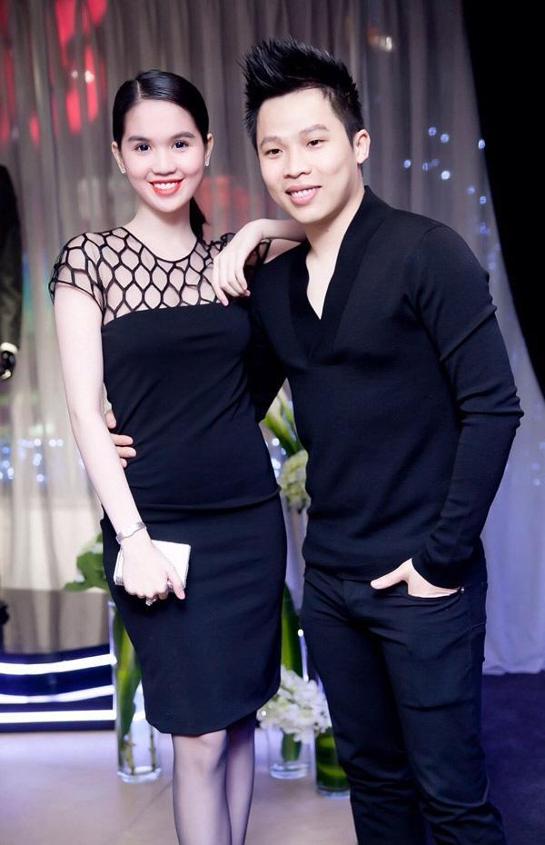 Suốt ngày diện đồ đôi tình tứ, showbiz Việt có ai thân thiết như cặp ông bầu Vũ Khắc Tiệp - gà cưng Ngọc Trinh-10