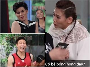 Hài như huấn luyện viên Võ Hoàng Yến: Xem nam thí sinh The Face so tài mà chỉ lo... 'bể bóng'