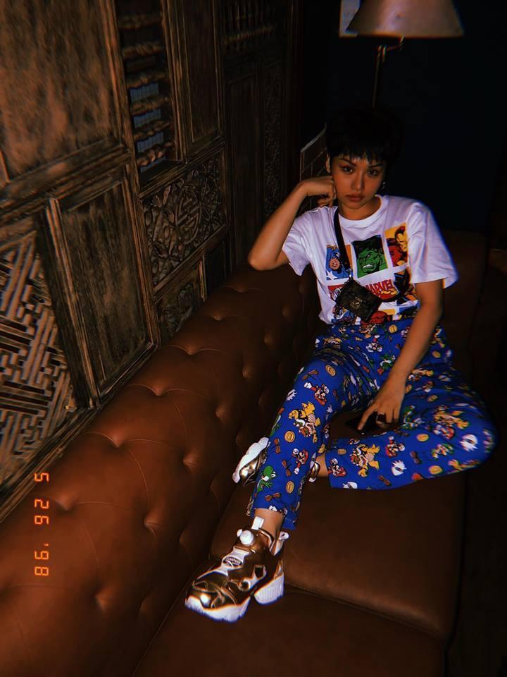 Dù liên tục bị chê mặc xấu, Miu Lê vẫn diện quần rách te tua không khác gì dân bụi đời chợ lớn ra ngoài-5