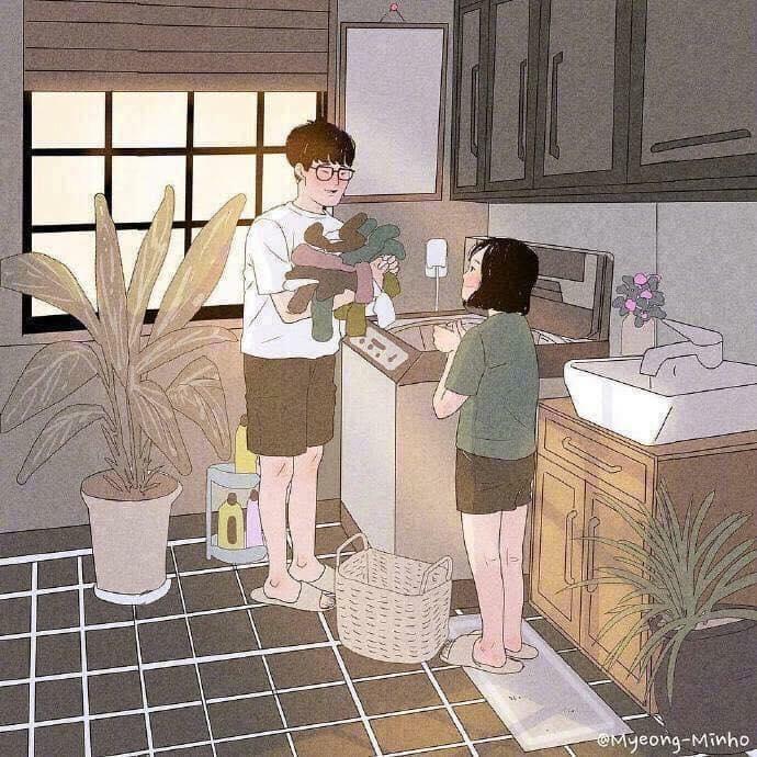 Chất như nước cất bộ ảnh về tình yêu giản dị, bình yên nhưng chỉ cần thế là quá đủ...-2