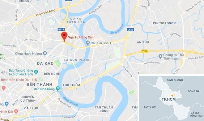 2 nạn nhân nguy kịch sau vụ nữ tài xế lái BMW tông liên hoàn ở Sài Gòn-2