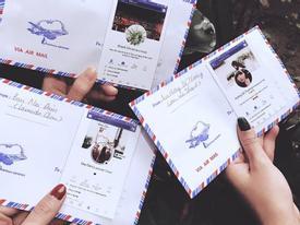 'Hottrend' mùa cưới: Phong bì phải dán ảnh facebook cá nhân mới chất