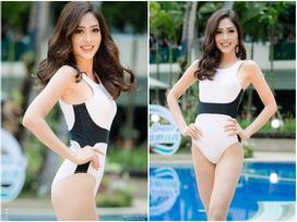 Bùi Phương Nga lên tiếng về hình thể bị chê 'mặc bikini mà người ngợm mỏng lét' tại Miss Grand 2018