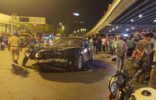 Nữ tài xế lái xe BMW gây tai nạn liên hoàn ở Ngã tư Hàng Xanh có nồng độ cồn vượt gấp 4 lần quy định-2