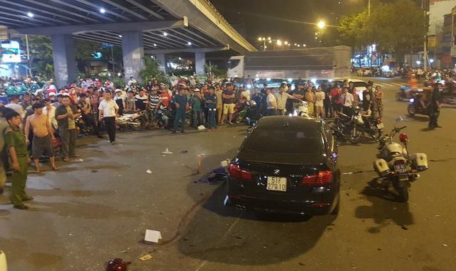 Nữ tài xế lái xe BMW gây tai nạn liên hoàn ở Ngã tư Hàng Xanh có nồng độ cồn vượt gấp 4 lần quy định-5