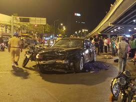 Nữ tài xế lái xe BMW gây tai nạn liên hoàn ở Ngã tư Hàng Xanh có nồng độ cồn vượt gấp 4 lần quy định