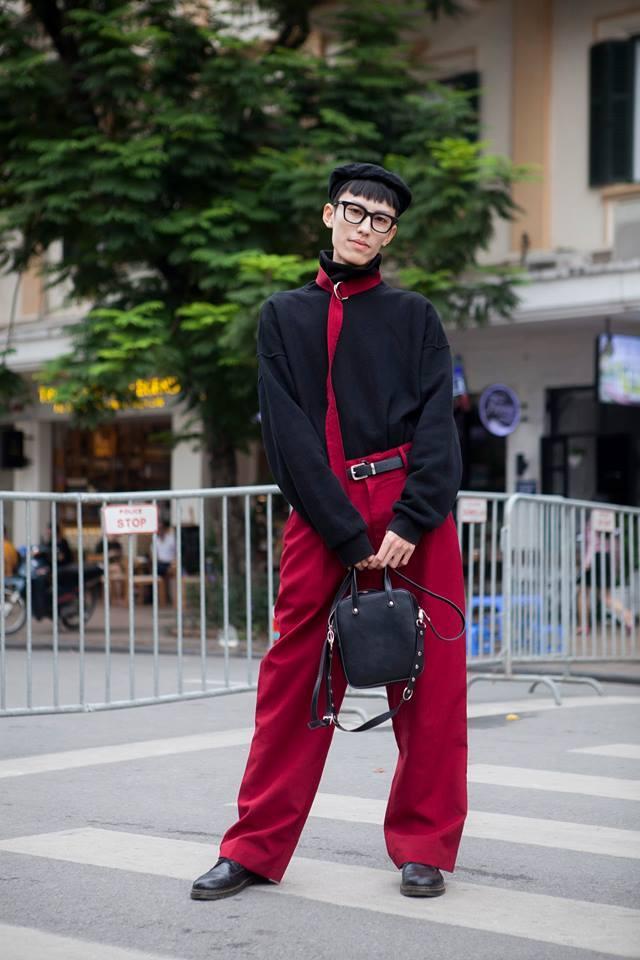Giới trẻ chào sân Vietnam International Fashion Week bằng loạt street style không thể ĐỘC DỊ hơn-5