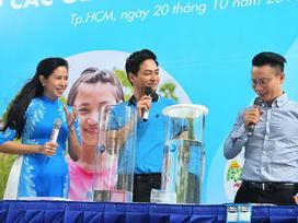 MC Phan Anh đồng hành cùng 'Nước uống sạch cho trẻ em'