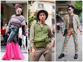 Giới trẻ 'chào sân' Vietnam International Fashion Week bằng loạt street style không thể ĐỘC DỊ hơn