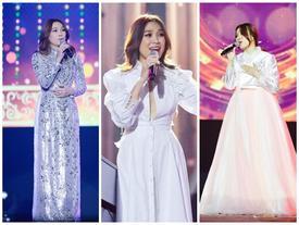 Hé lộ về chiếc áo dài lấp lánh tựa sao trời giúp chị đại Mỹ Tâm chiếm trọn tim khán giả Hàn Quốc