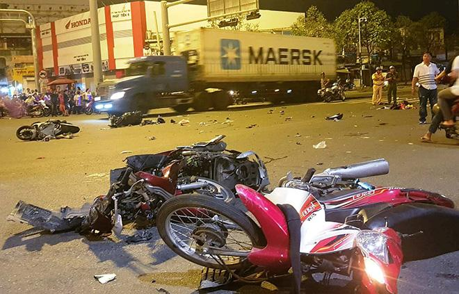 Vụ nữ tài xế BMW say xỉn gây tai nạn: Bị húc văng xa, tôi nghĩ khó thoát chết-1
