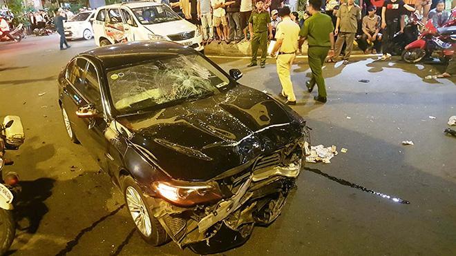 Vụ nữ tài xế BMW say xỉn gây tai nạn: Bị húc văng xa, tôi nghĩ khó thoát chết-5
