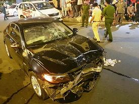 Vụ nữ tài xế BMW say xỉn gây tai nạn: 'Bị húc văng xa, tôi nghĩ khó thoát chết'