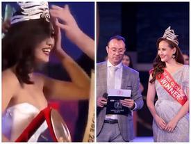 HOT showbiz: HH Khánh Ngân thất vọng vì bị 'cướp quyền' trao vương miện