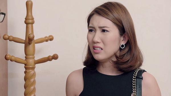 Gạo nếp gạo tẻ tập 73: Bà Mai khóc hết nước mắt tha thiết cầu xin Kiệt đừng ly hôn Hân-9