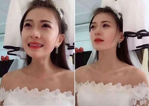 Cô dâu khóc nấc khi bắt quả tang chú rể thân mật với phù dâu-1