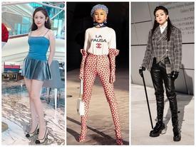 Gil Lê - Phí Phương Anh khoe streetwear cực chất ở SFW - Thúy Vi vẫn trung thành với style phô da thịt