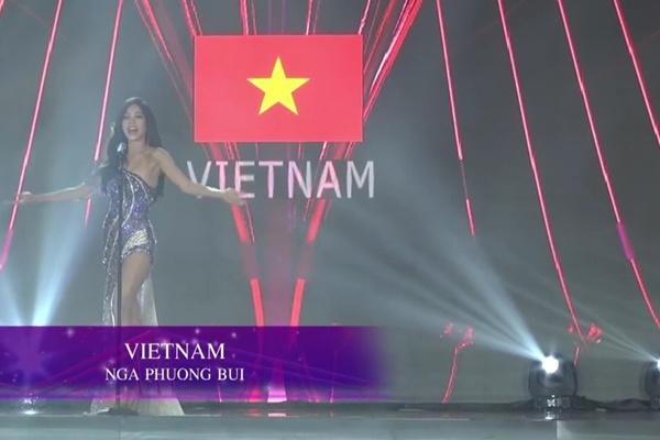 Bùi Phương Nga xử lý cực gọn pha xoay người chông chênh trong đêm bán kết Miss Grand 2018-1