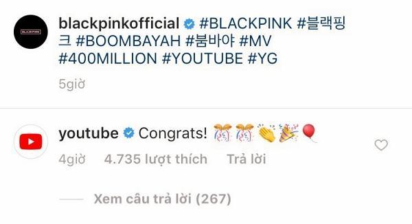 Đẳng cấp bà hoàng Youtube BLACKPINK: Đến cả Youtube cũng phải gửi lời chúc mừng thành tích mới-6