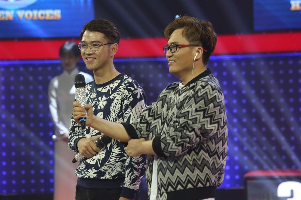 Phạm Quỳnh Anh rưng rưng nước mắt trước chàng trai có giọng hát giống Wanbi Tuấn Anh-1