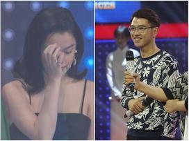 Phạm Quỳnh Anh rưng rưng nước mắt trước chàng trai có giọng hát giống Wanbi Tuấn Anh
