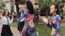 Mai Ngô trổ tài làm giảng viên vũ đạo cho hơn 150 học sinh tỉnh Kon Tum