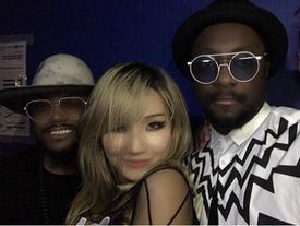 CL (2NE1) xác nhận hợp tác nhóm Black Eyed Peas sau thời gian lận đận