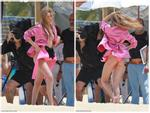 Gigi Hadid hớ hênh khi chụp ảnh thời trang