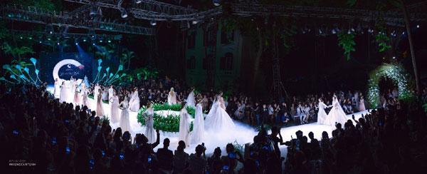 Mãn nhãn với show váy cưới của NTK Phương Linh-1