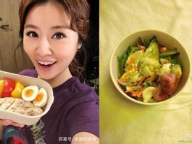 Tận mắt nhìn bữa ăn kham khổ của mỹ nhân Hoa ngữ mới thấy làm ngôi sao quả không dễ dàng
