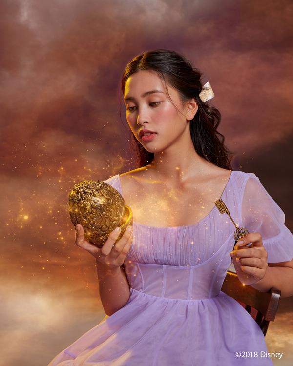 Hoa hậu Tiểu Vy hóa công chúa kiêu sa trong bom tấn mới của Disney-4