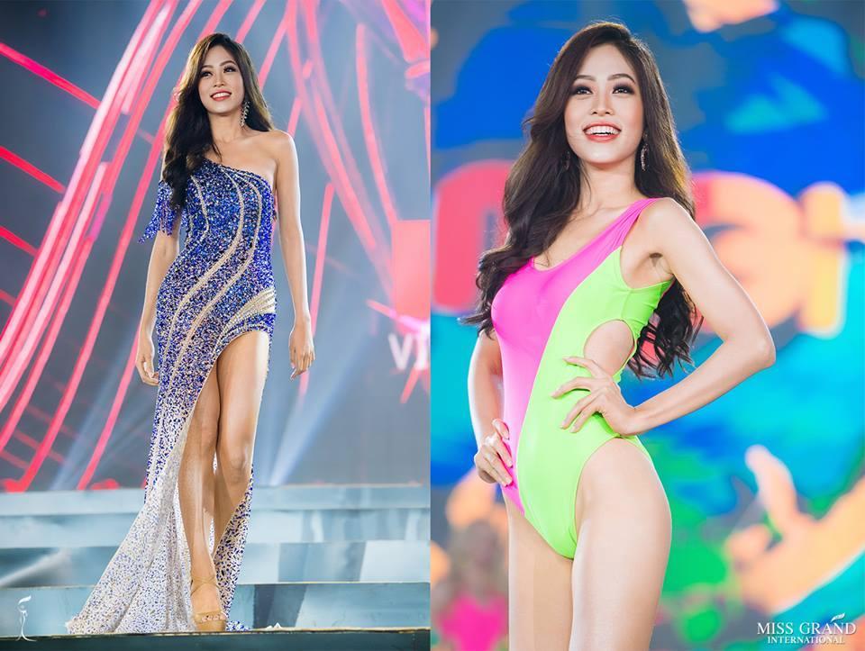 Đứng hạng 2 bình chọn, Bùi Phương Nga có cơ hội giành quyền đặc cách vào thẳng top 10 Miss Grand 2018-2