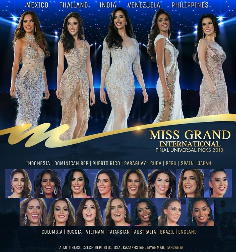 Đứng hạng 2 bình chọn, Bùi Phương Nga có cơ hội giành quyền đặc cách vào thẳng top 10 Miss Grand 2018-6