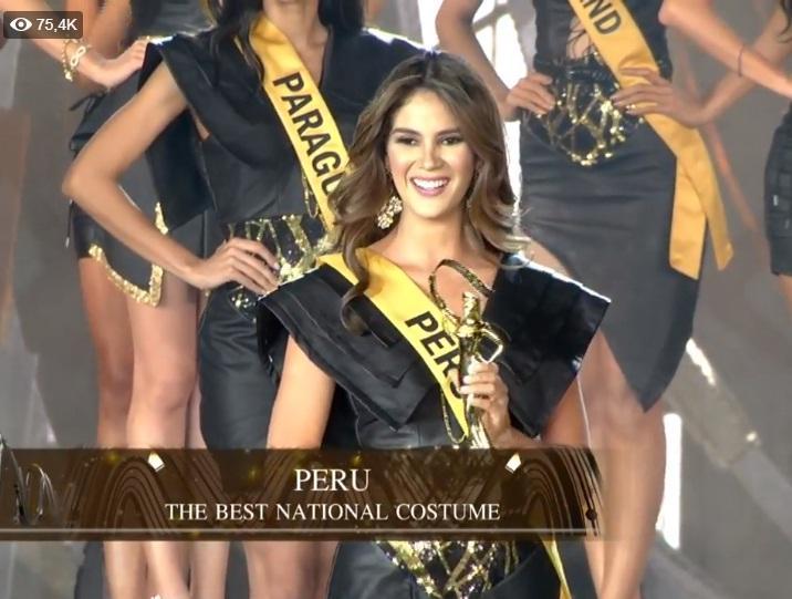Đại diện Peru chiến thắng giải Quốc phục đẹp nhất-1