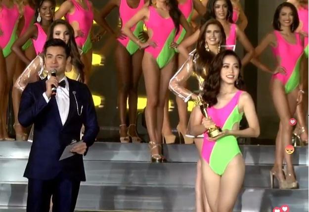 Công bố top 10 người đẹp nhất, Việt Nam xuất sắc được gọi tên nhờ giải Hoa hậu Bình chọn-2
