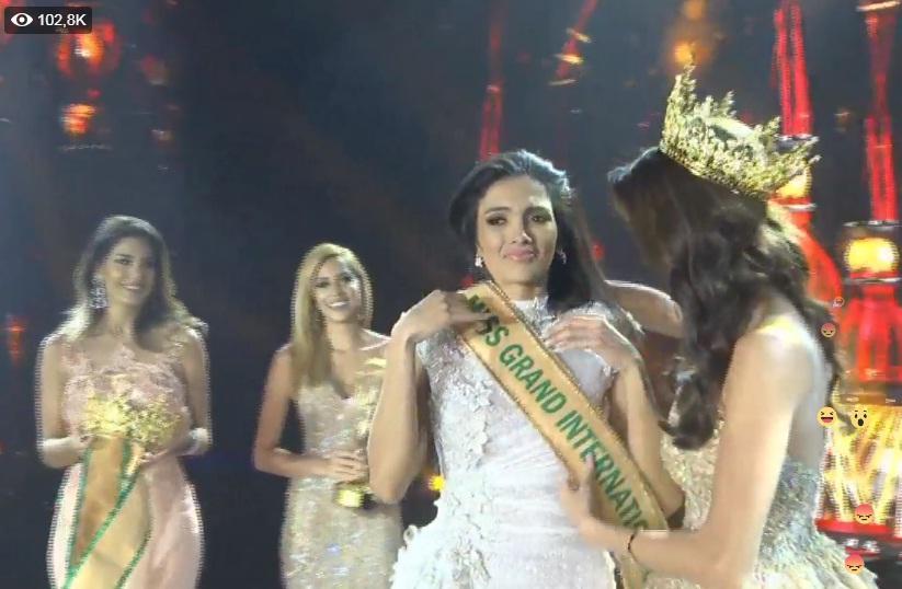 Được xướng tên cho ngôi hoa hậu, mỹ nữ Paraguay lăn đùng bất tỉnh nhân sự-4