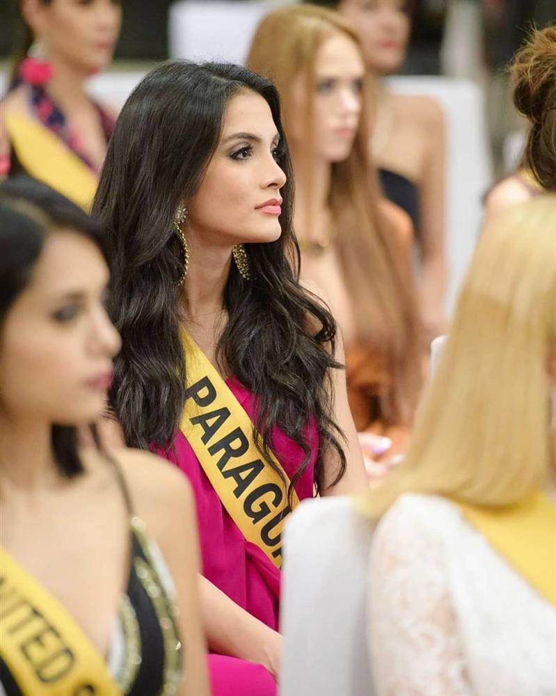Dung nhan đẹp xuất sắc của Hoa hậu Hòa bình 2018 vừa được xướng tên đã lăn đùng bất tỉnh-5