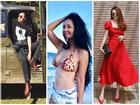 Diva Hồng Nhung U50 vẫn diện bikini khoe dáng nuột nà - Hà Tăng mang giầy 'há mõm' mà sao thần thái đến thế