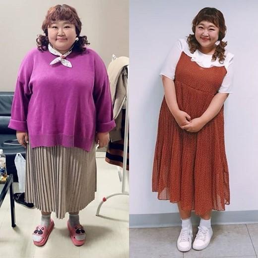 Diễn viên hài xứ Hàn gây shock khi cấp tốc giảm 30kg để mặc vừa váy cưới-1