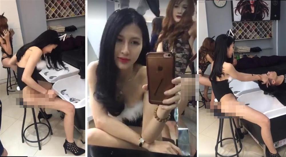 Ngoài 2 cô gái tắm truồng ở biển Bình Định, dân mạng cũng hết vía với loạt thiếu nữ chuyển giới lột đồ giữa phố-6